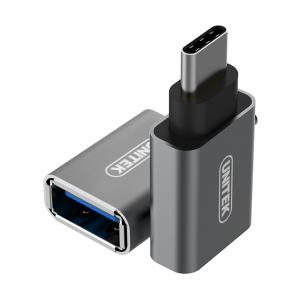 Đầu đổi Type C to USB 3.0 UNITEK (Y-A 025CGY)