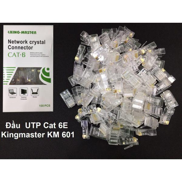 ĐẦU UTP CAT 6E KINGMASTER (KM601)