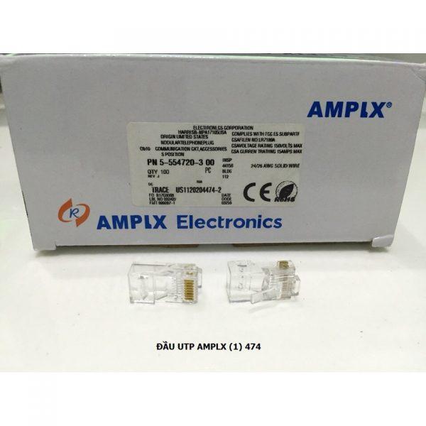 Đầu mạng RJ45 nhựa AMPLX 474