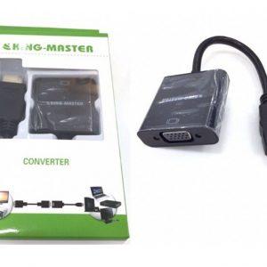 Cáp chuyển HDMI sang VGA Kingmaster (KY-H 121B)
