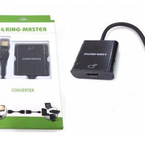 Cáp mini displayport sang HDMI Kingmaster (KY-M 362B)