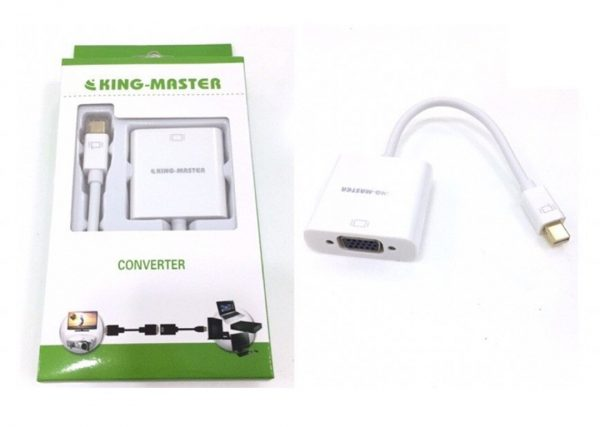 Cáp chuyển Displayport VGA Kingmaster (KY-M363W)