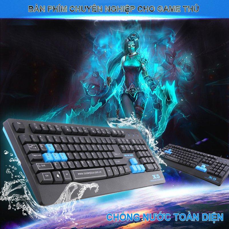 bàn phím coolerplus gaming x5