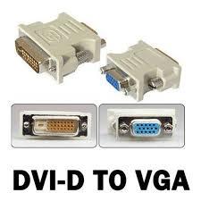Đầu đổi DVI 24+5 to VGA